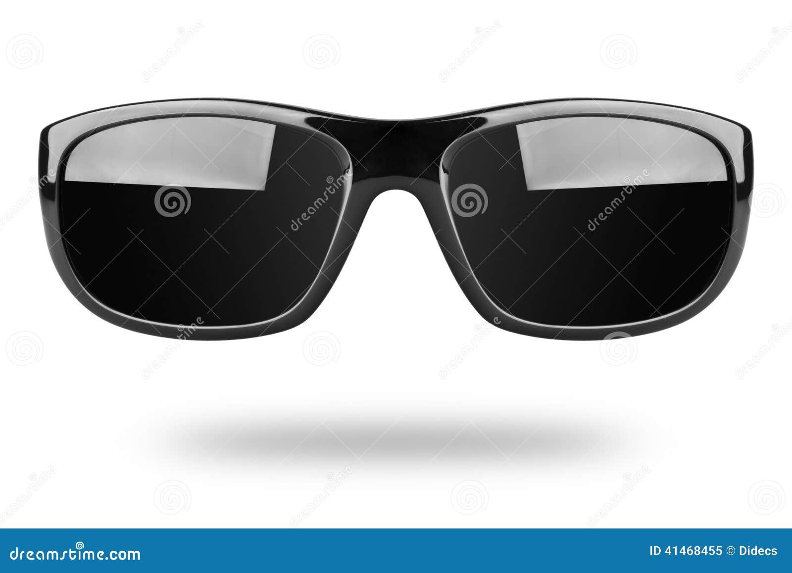 8cdaf9ae Gafas De Sol Aisladas En El Fondo Blanco Imagen de archivo - Imagen ...