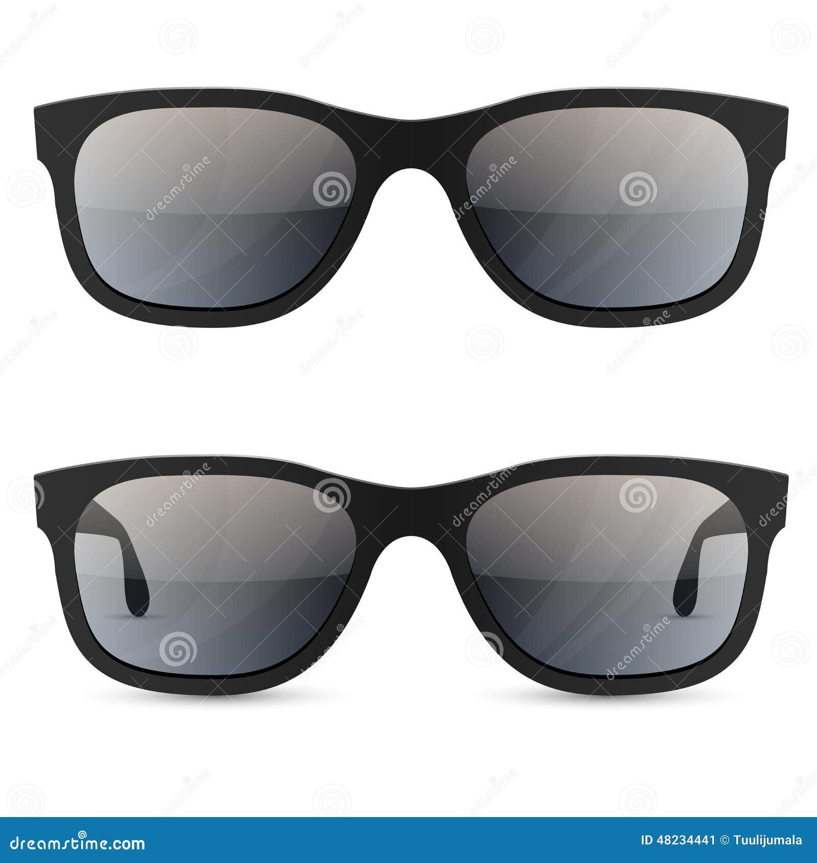 Sol Clásicas Gafas Del Ilustración De Vector rdCoexBW