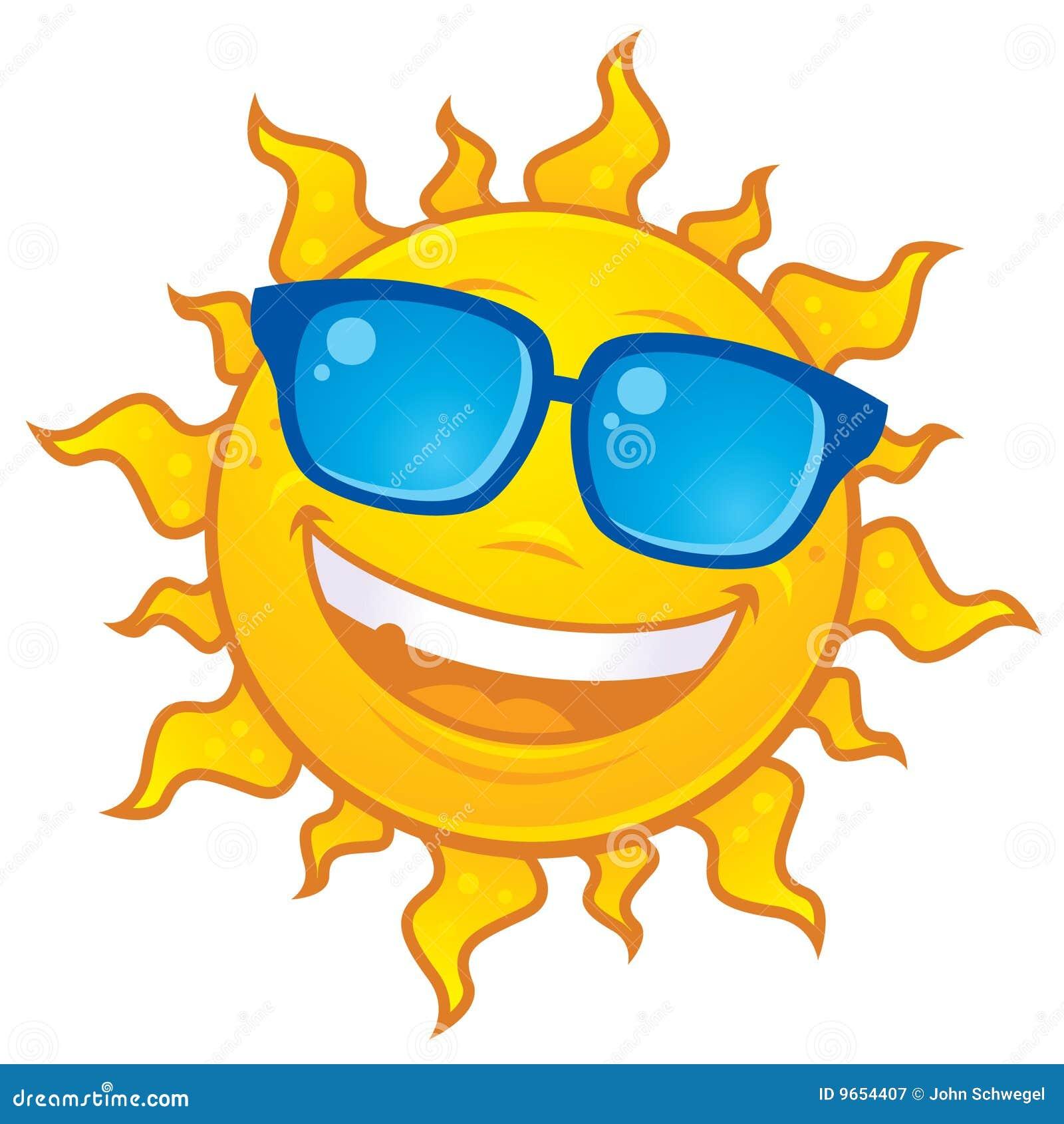 0368390a3de Gafas De Sol Que Desgastan De Sun Ilustración del Vector ...