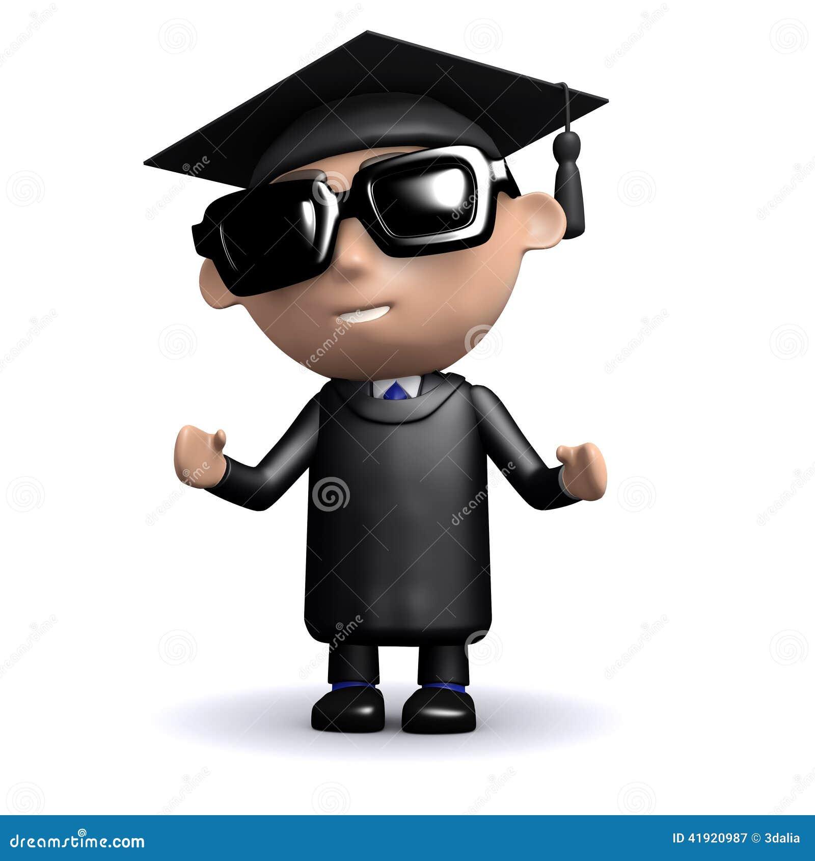 Gafas de sol que llevan del graduado 3d