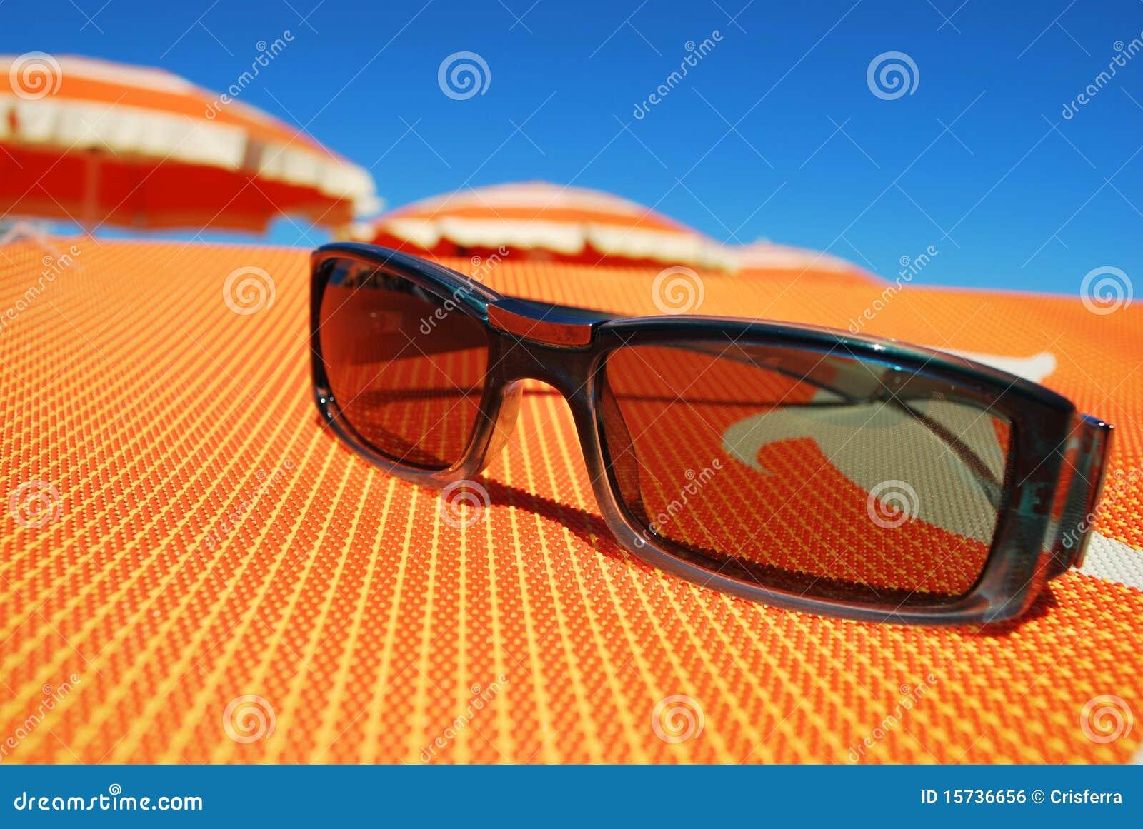 Gafas de sol y playa