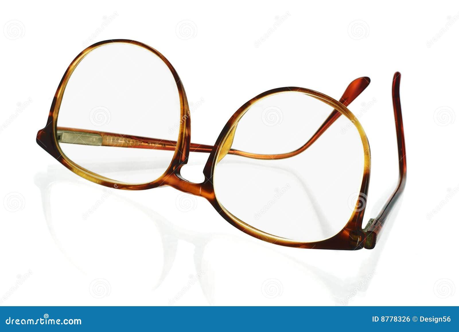 Gafas Grandes Del Plástico Del Marco Foto de archivo - Imagen de ...