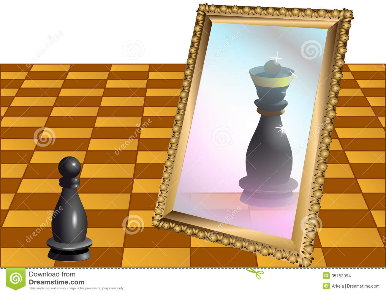 Gage d échecs en tant que reine