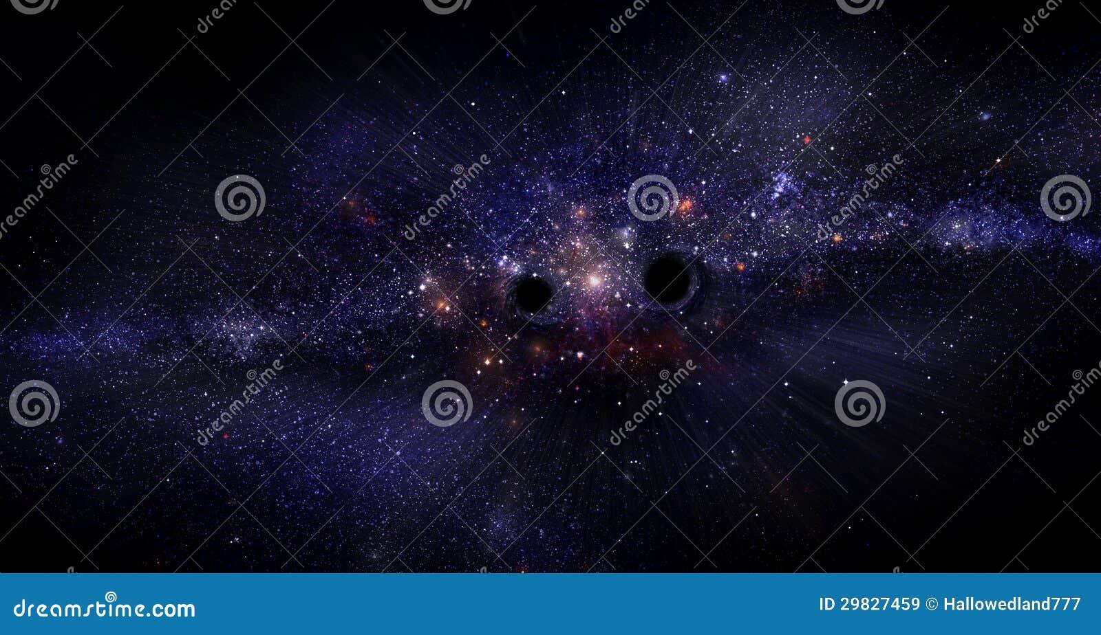 Galáxia com buracos negros