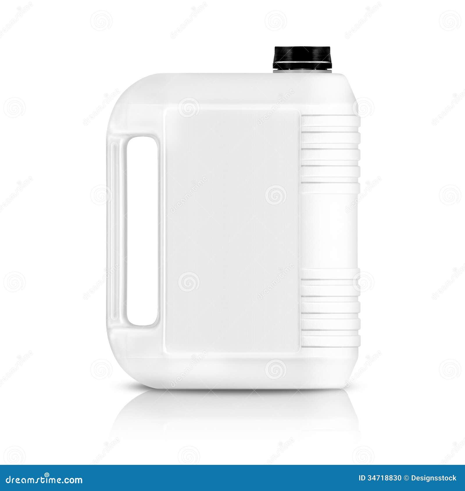 Galão plástico