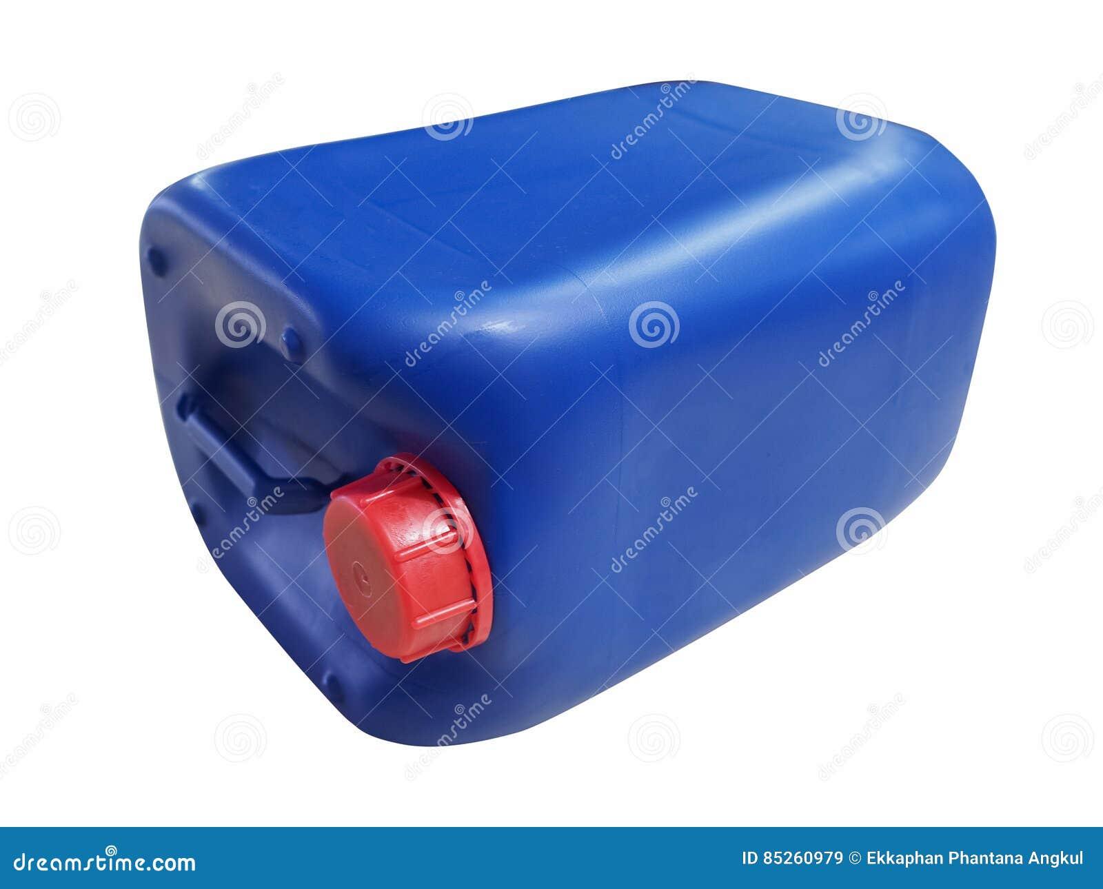 Galón plástico azul