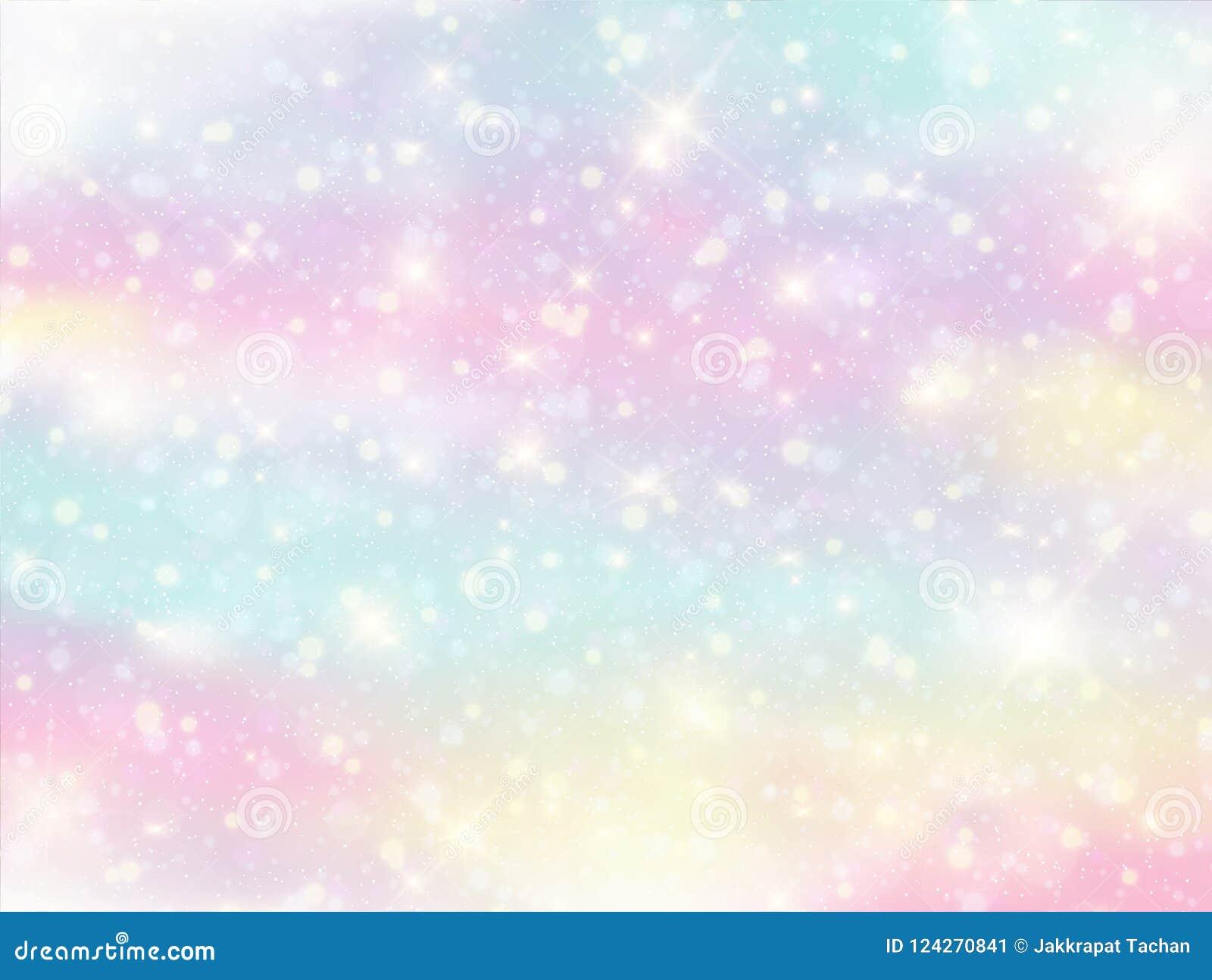 Galaktyki fantazi tło i pastelowy kolor