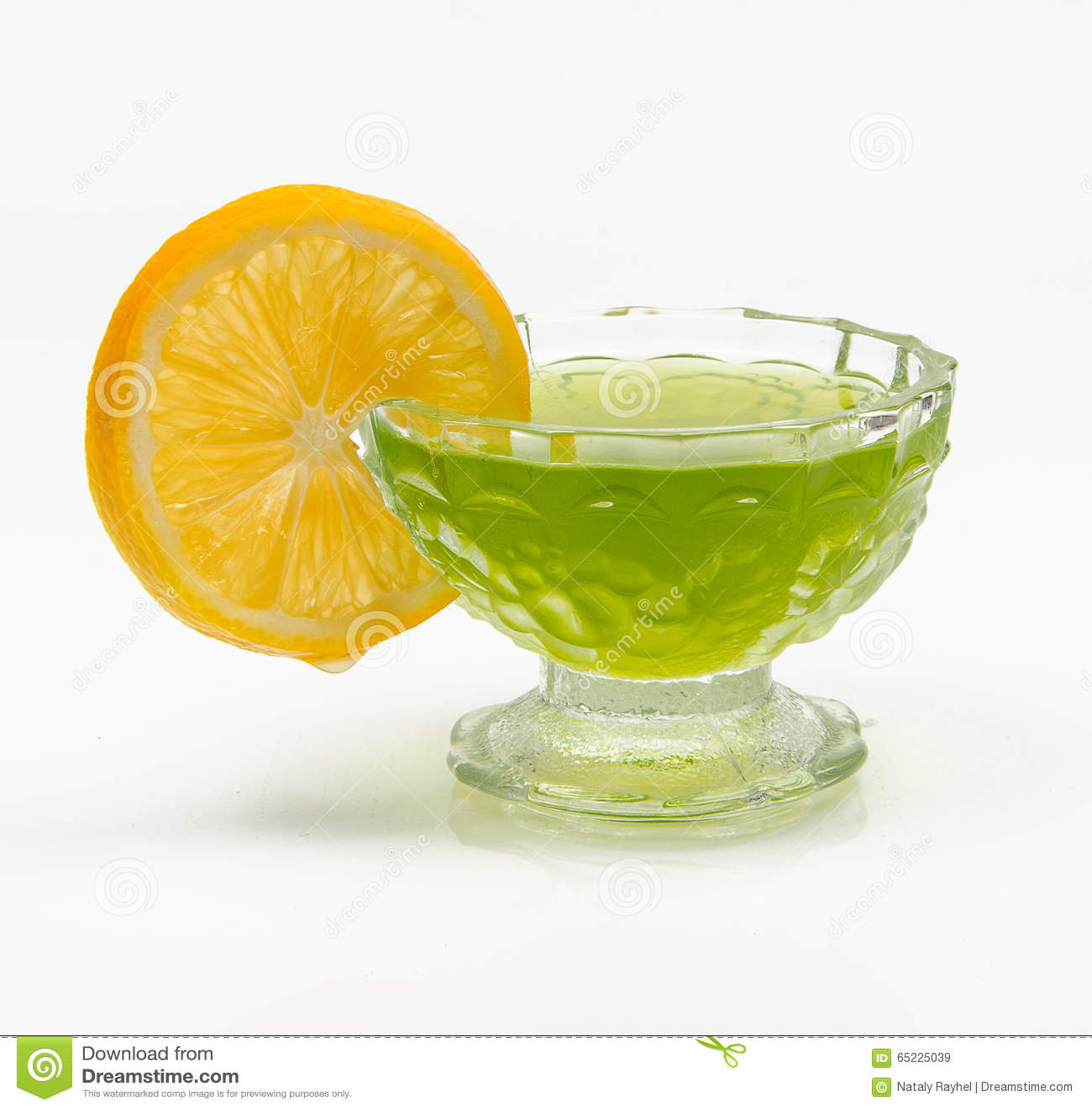 Galareta z cytryną