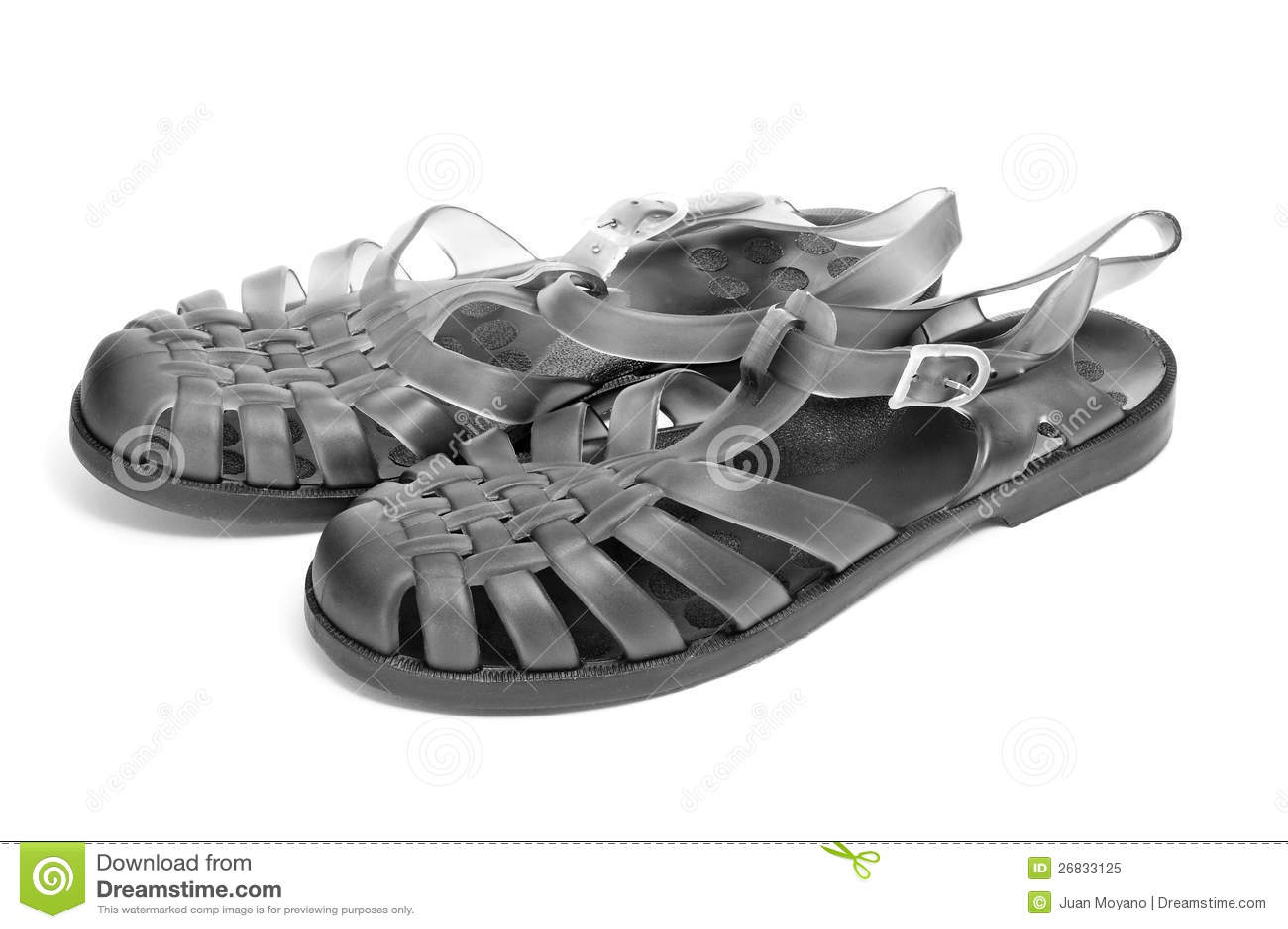 Galaretowi sandały