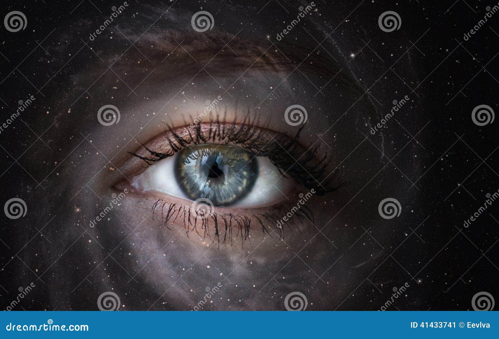 Galassia con l occhio