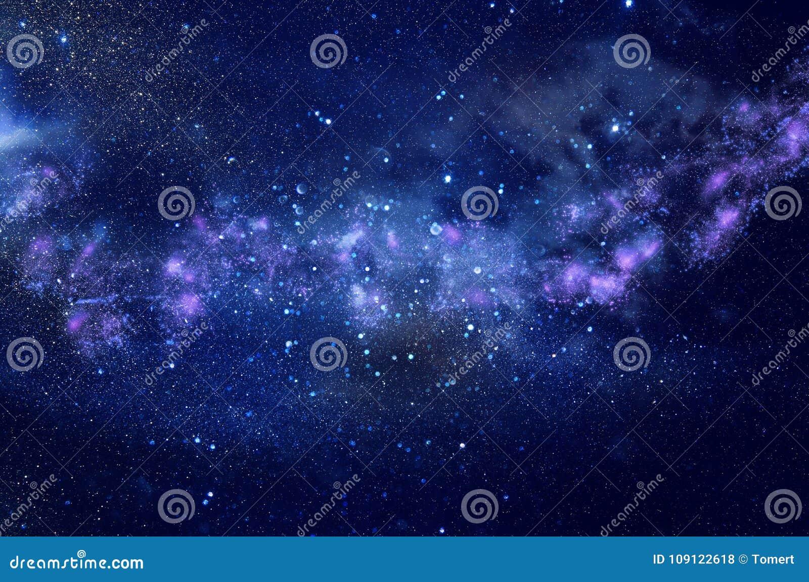 Galassia e nebulosa Struttura stellata del fondo dello spazio cosmico