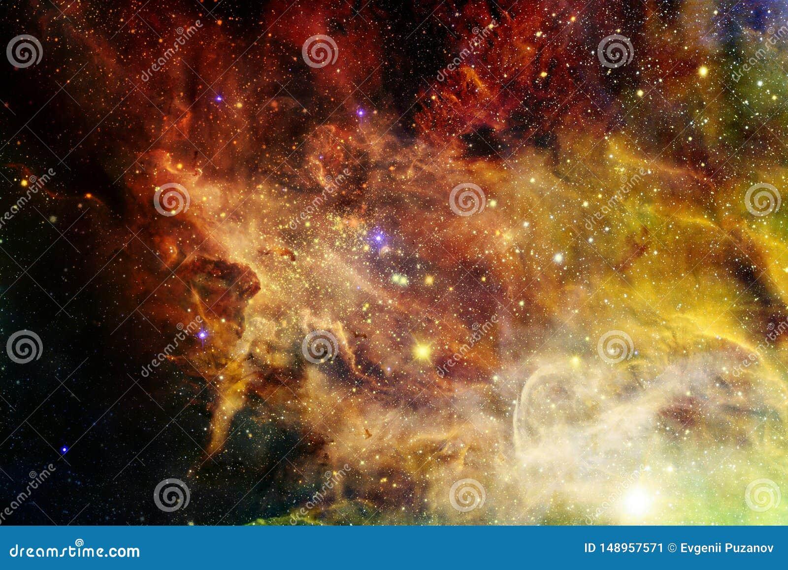 Galassia incredibilmente bella molti anni luci lontano dalla terra
