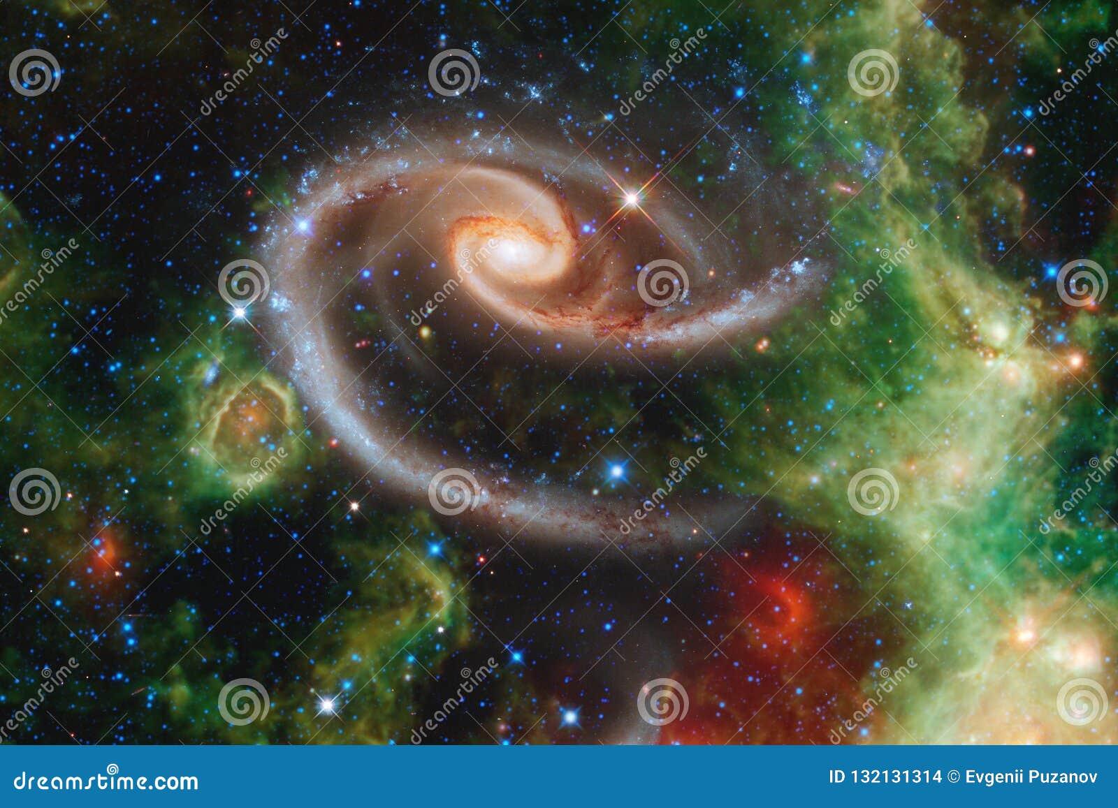 Galassia nello spazio cosmico, bellezza dell universo