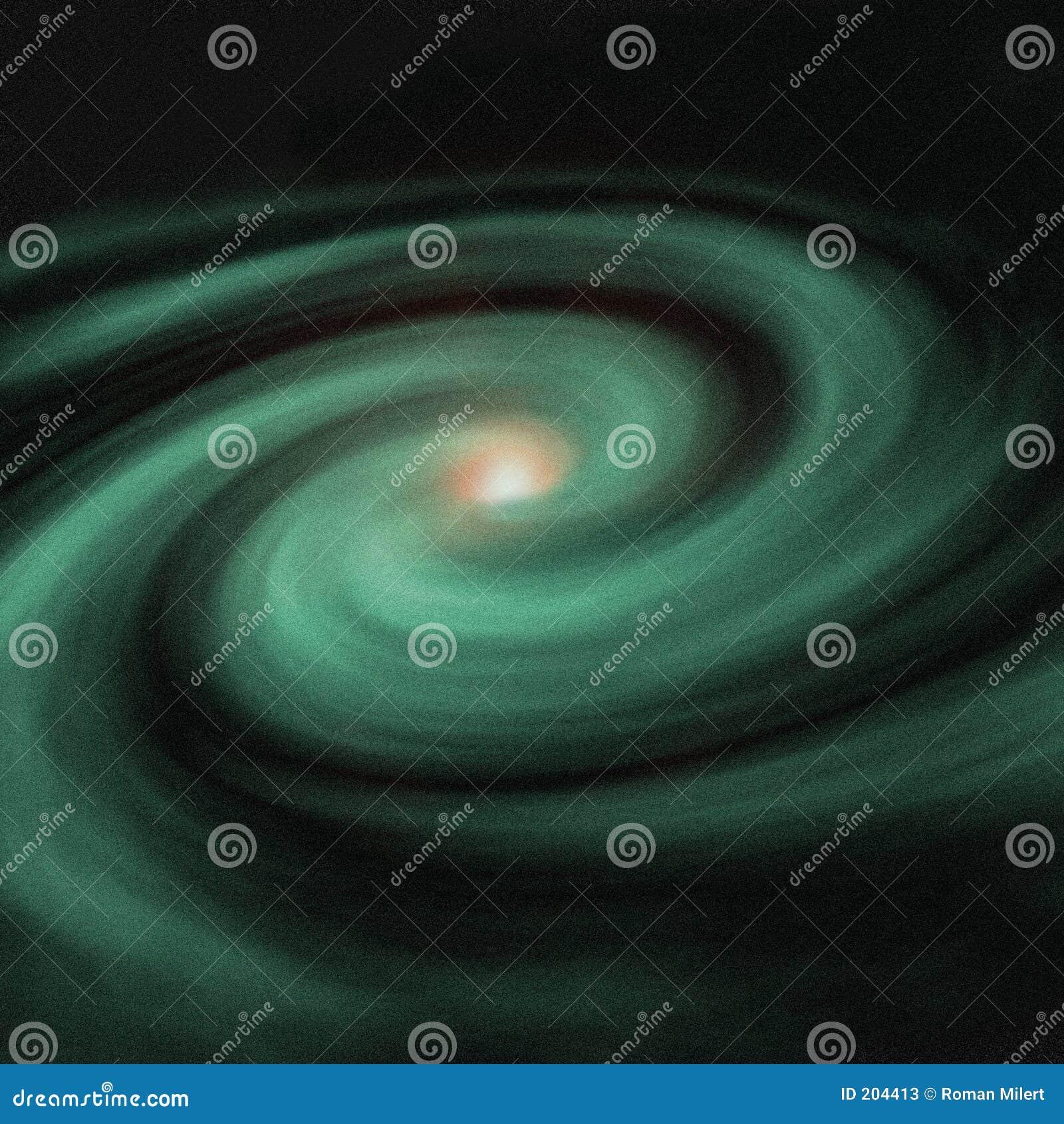 Galassia verde
