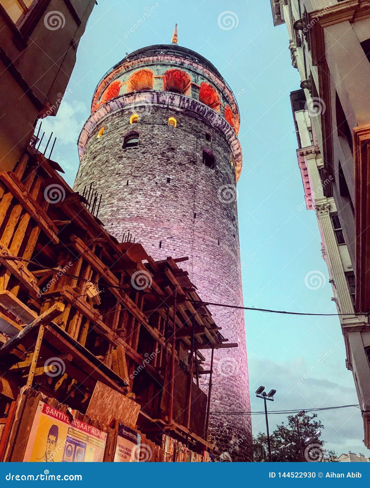 伊斯坦布尔galata塔