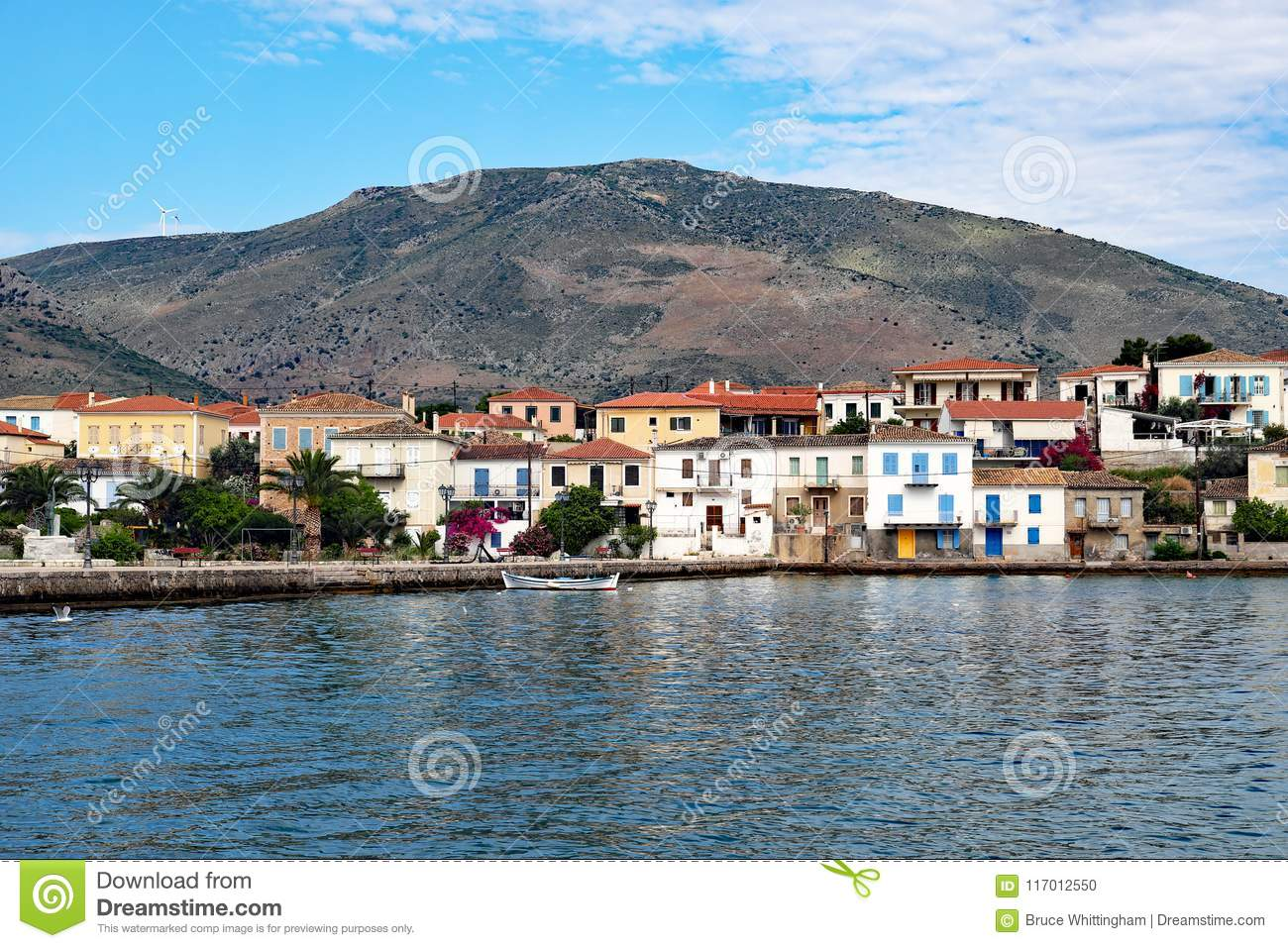 Galaxidi, Greece, View Across Outer Harbour