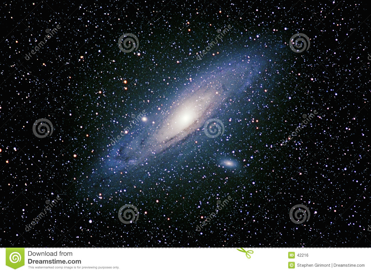 Galaxie d Andromeda