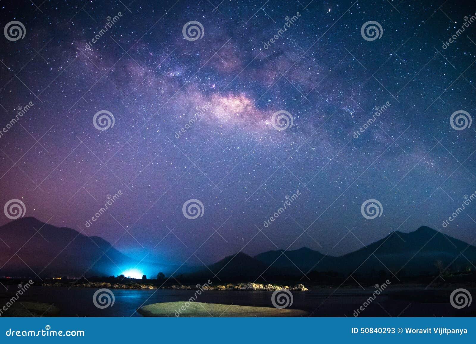 Galaxie de manière laiteuse