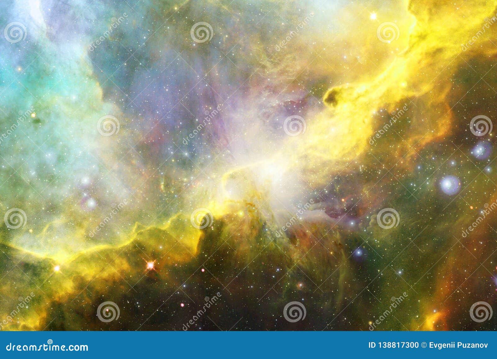 Galaxie rougeoyante, papier peint impressionnant de la science-fiction