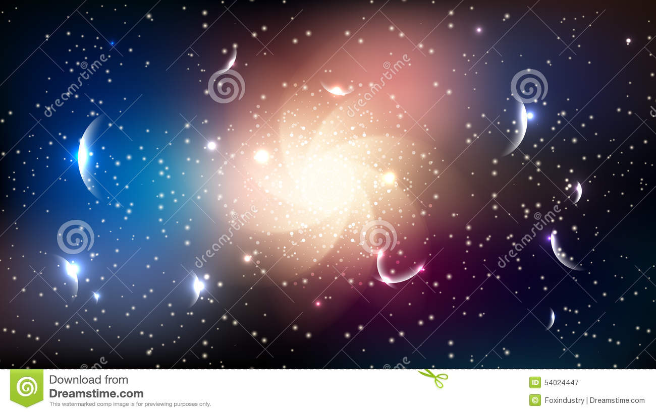 Galaxy black hole stars planets space abstract background stock vector image 54024447 - Galaxy and planets ...