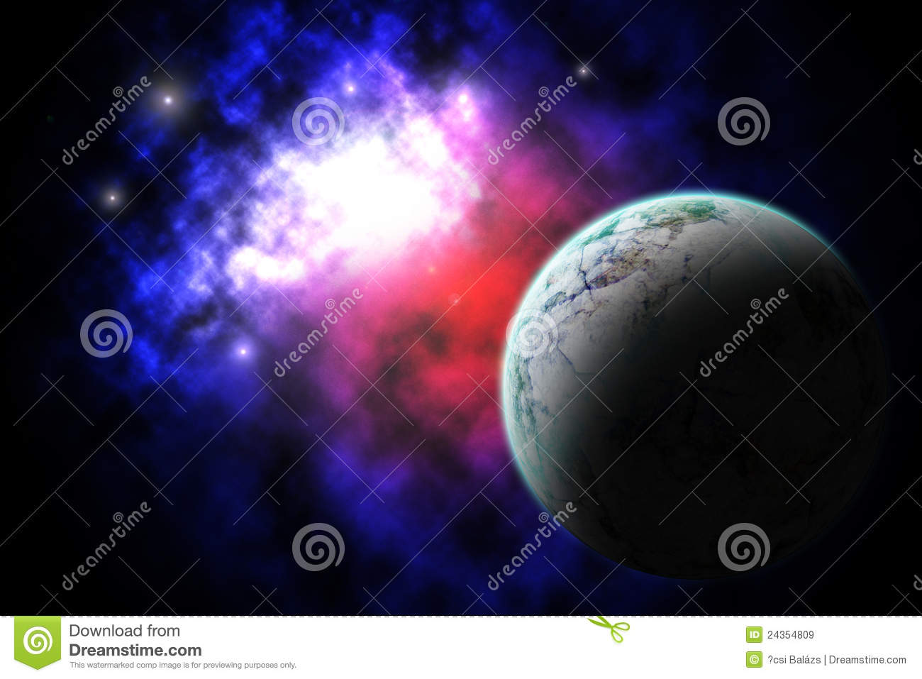 colorful galaxy planets and - photo #33