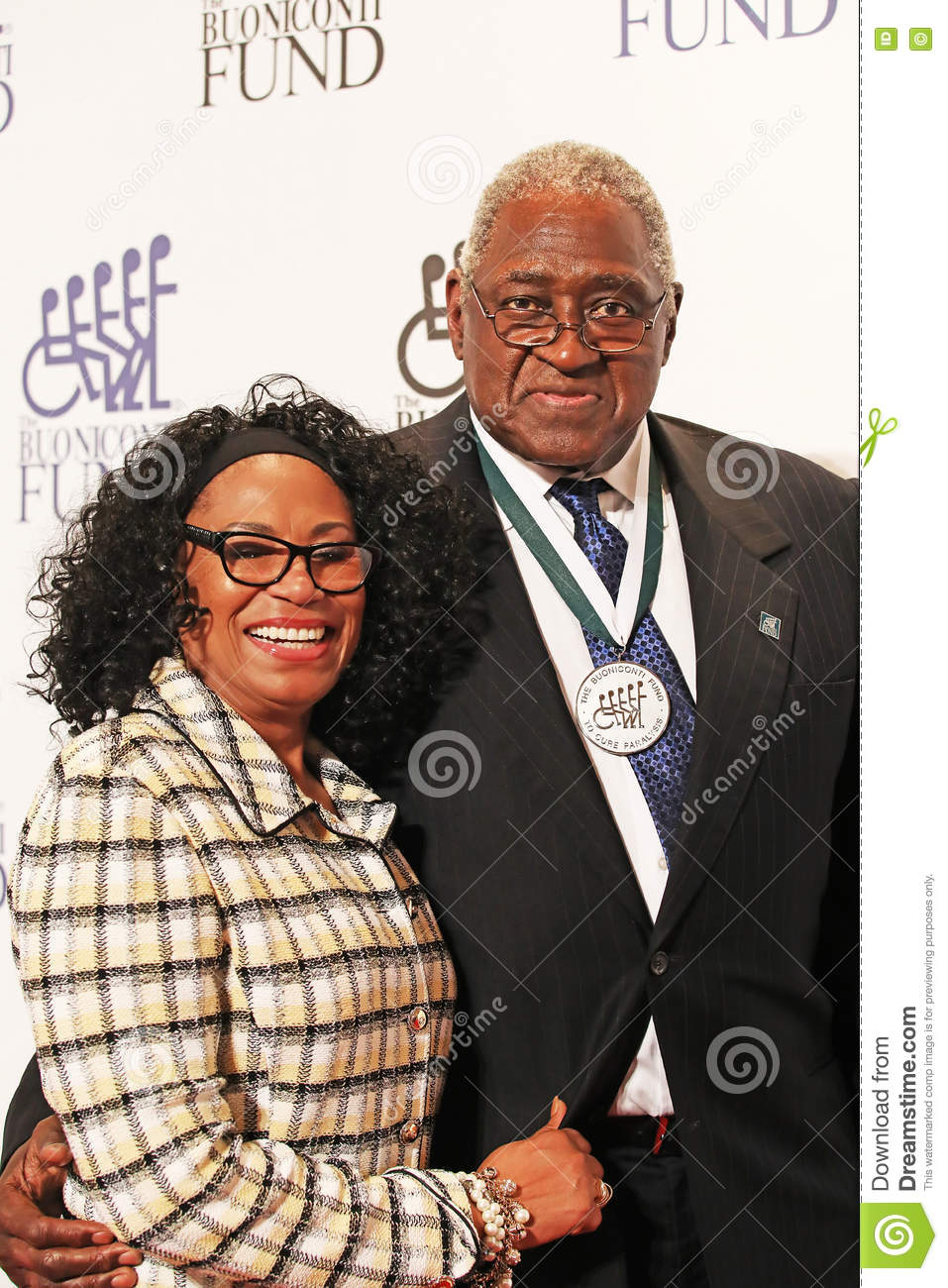 Gale Kennedy And Willis Reed Editorial Stock Image Image
