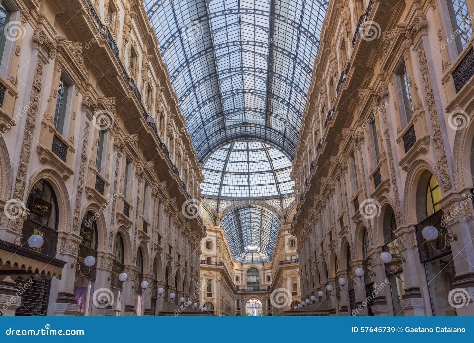 Galería de Vittorio Manuel de Milano