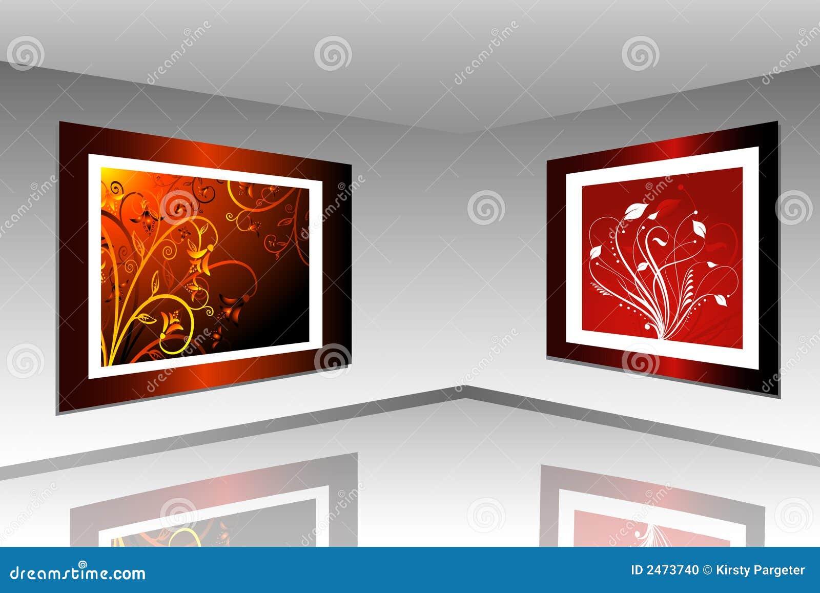 Galeria de arte foto de stock imagem 2473740 - Galerista de arte ...