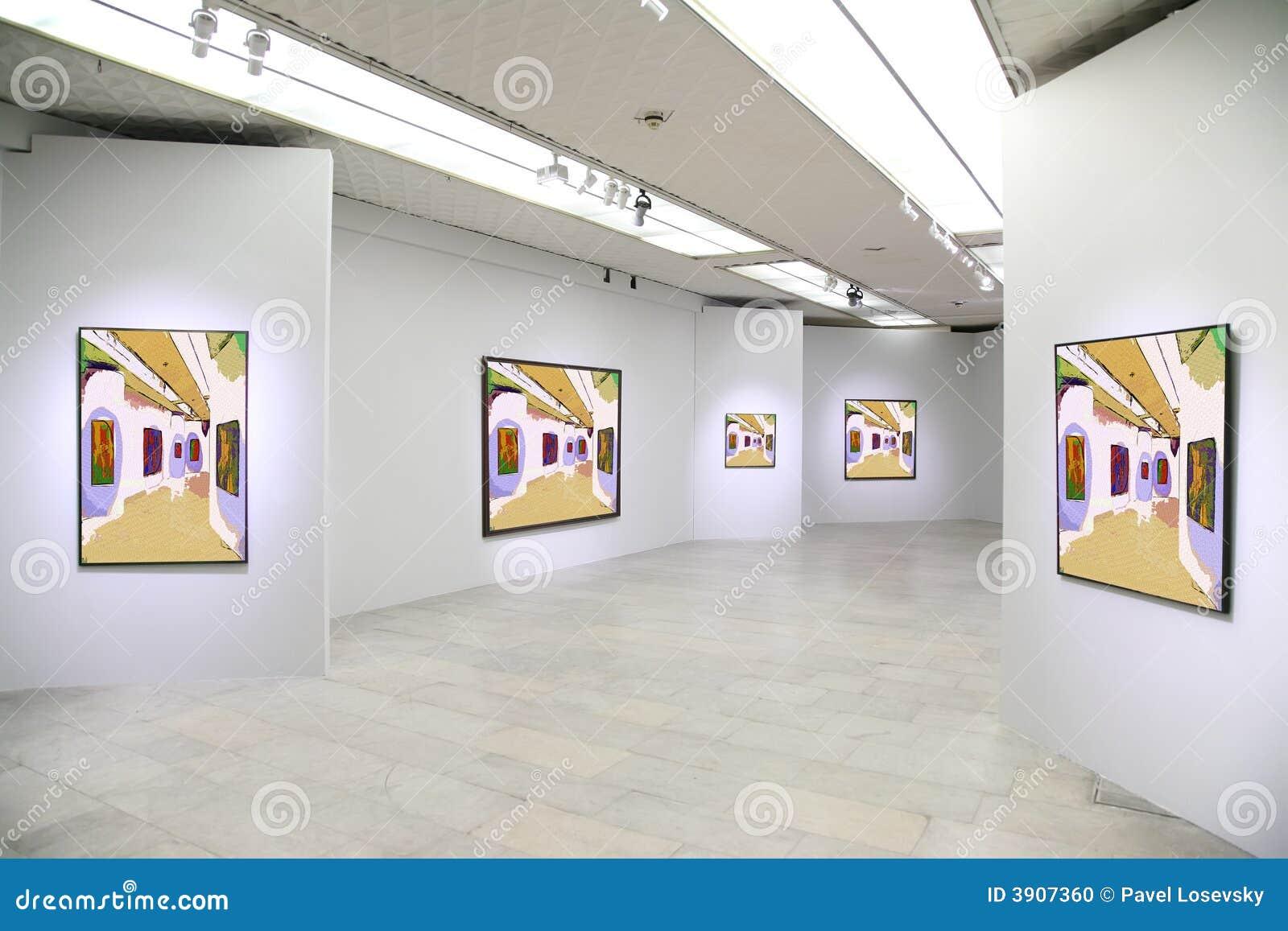 Galeria de arte 3 foto de stock imagem 3907360 - Galeria de arte sorolla ...