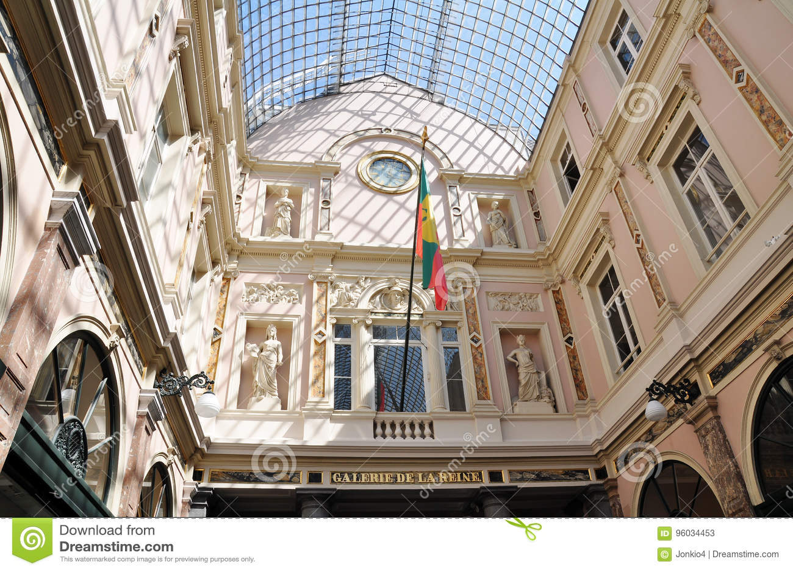 Galeria De Los angeles Reine, Bruksela