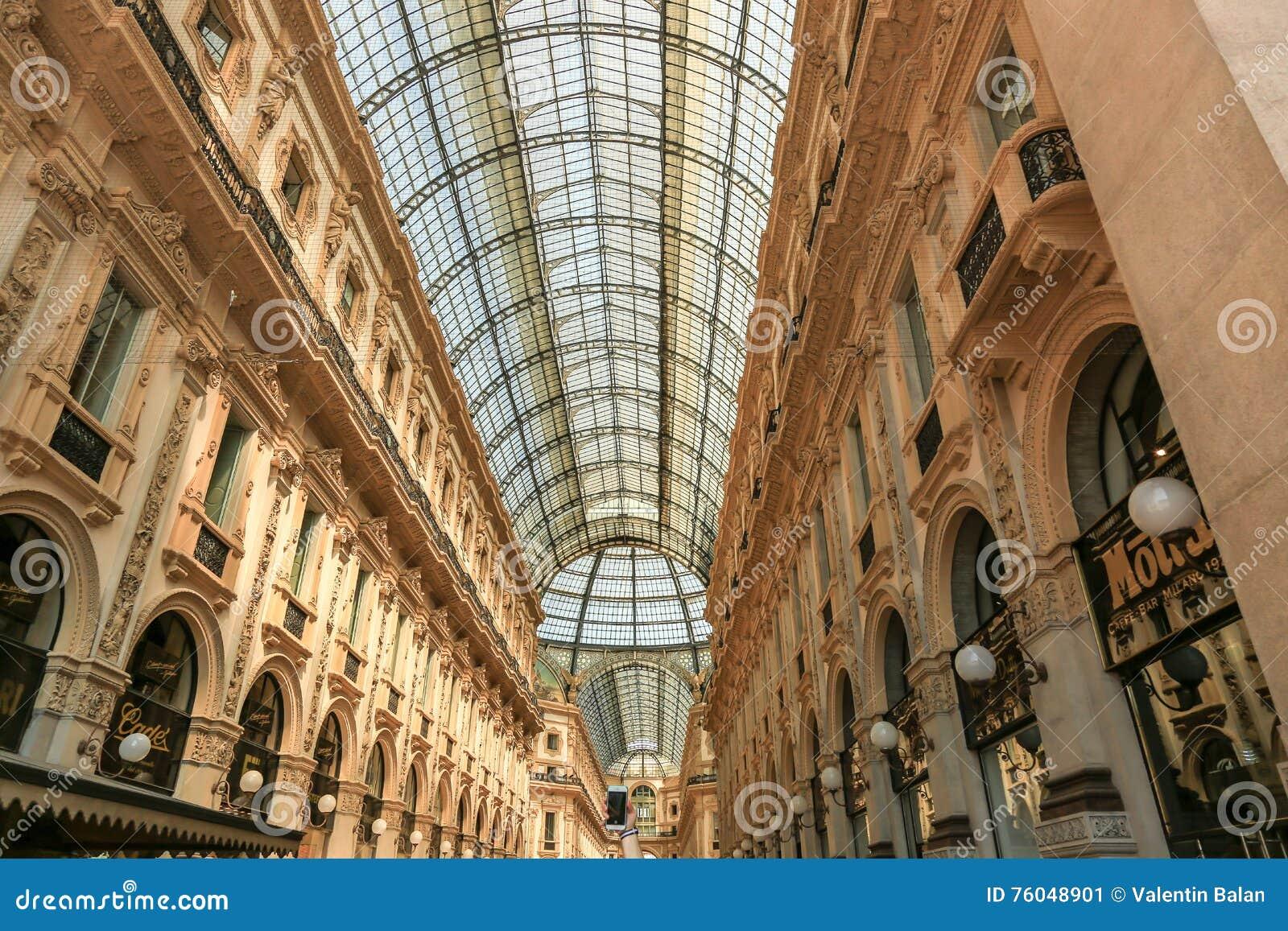 Galeria de Vittorio Emanuele II Milão, Itália