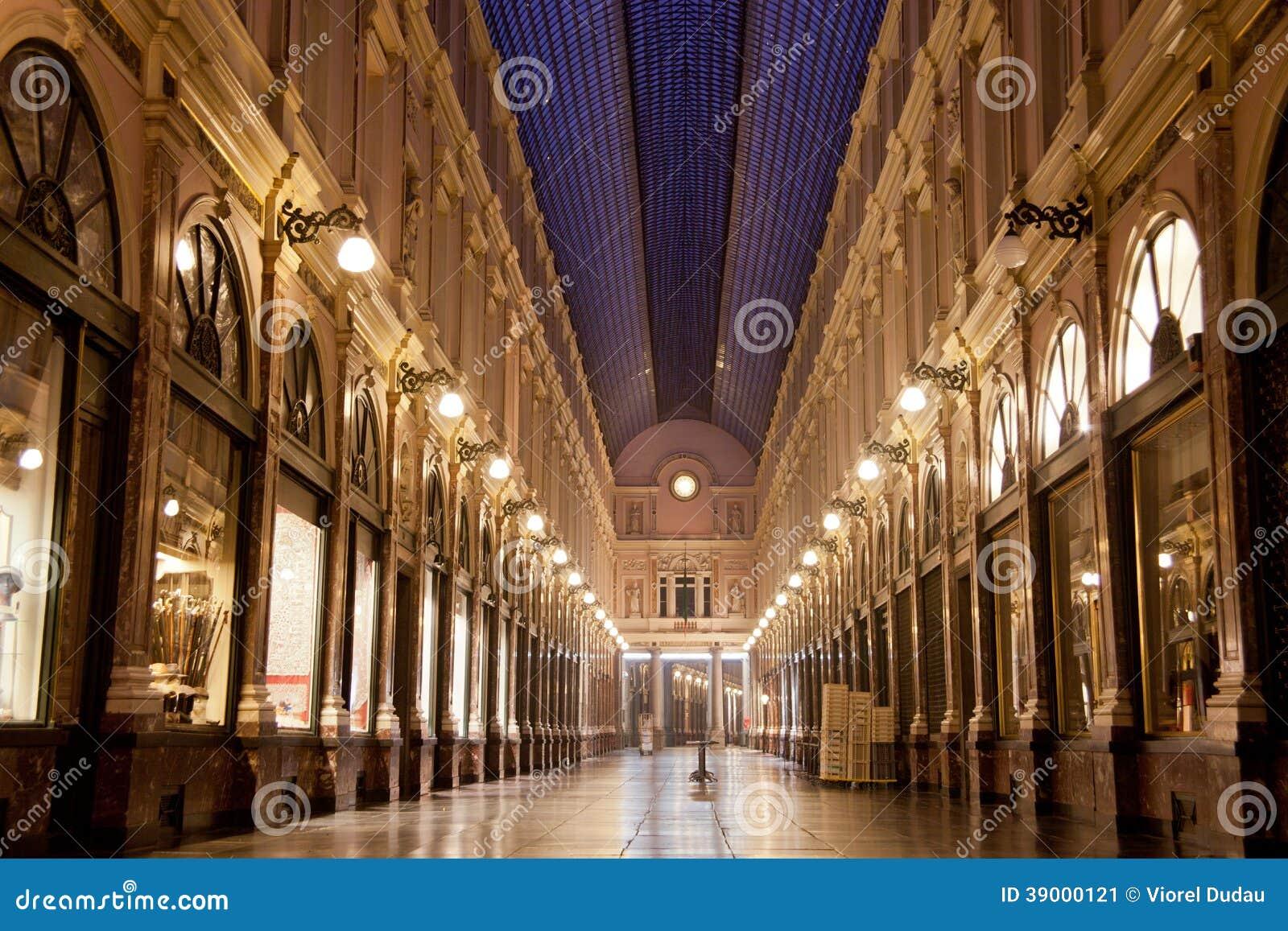 Galeries royales de saint Hubert à Bruxelles