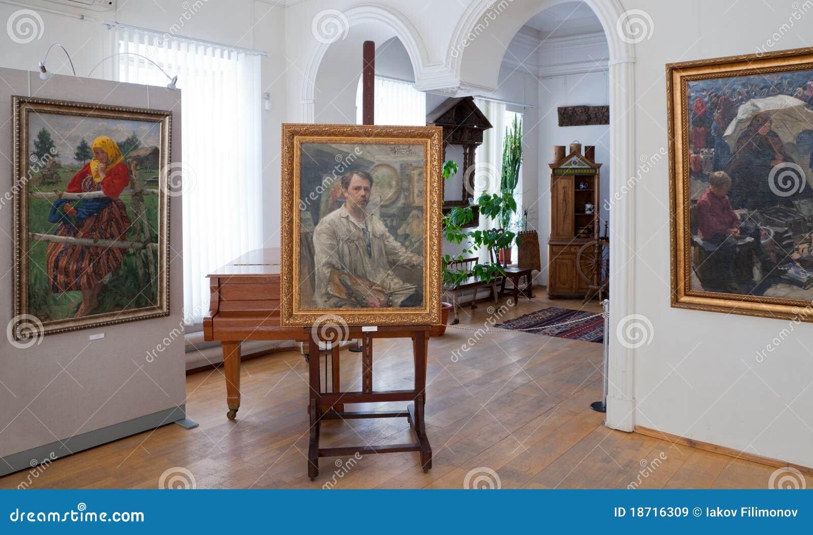 Galery door kunstenaar Ivan Kulikov (1875-1941)