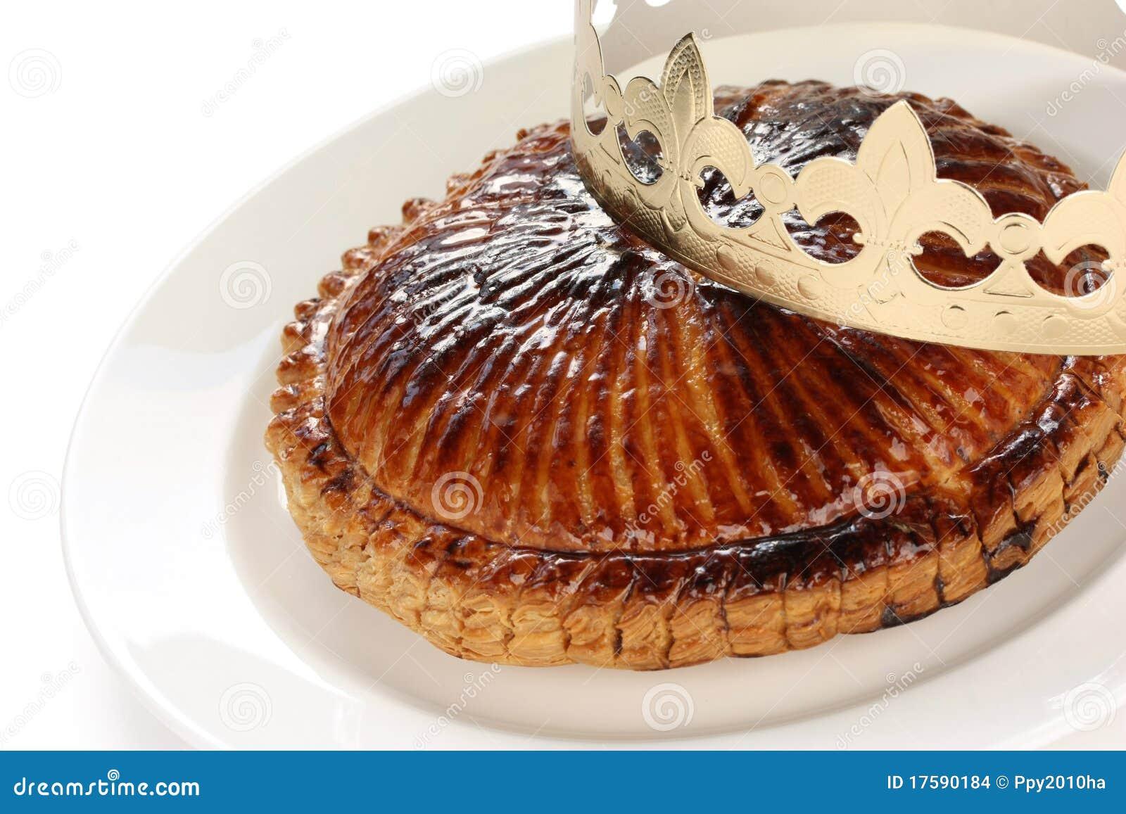 Galette des rois king cake stock photo image 17590184 - Galette des rois image ...