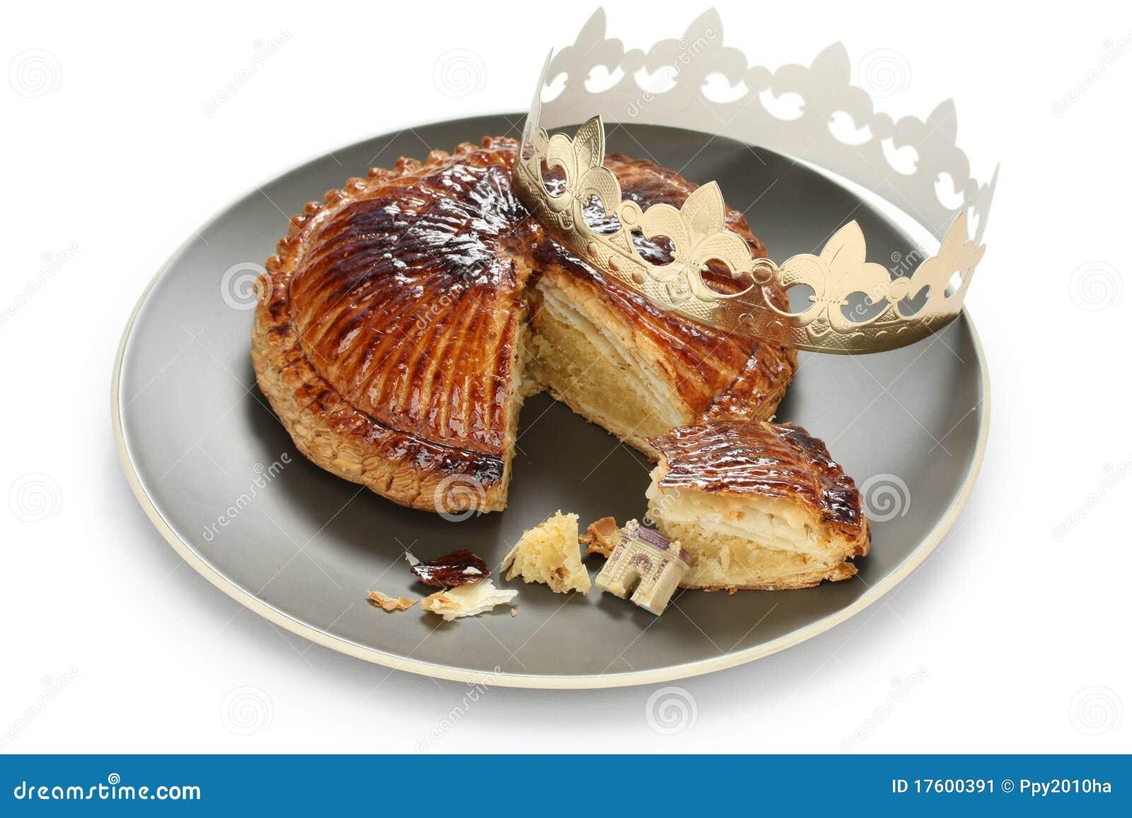 Galette des rois king cake stock image image 17600391 - Galette des rois image ...