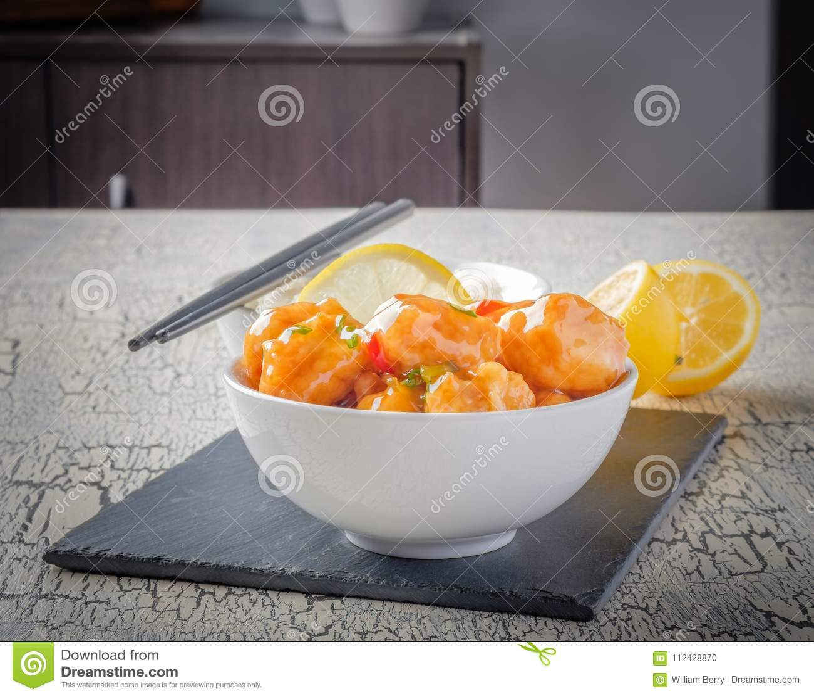Galinha asiática do limão