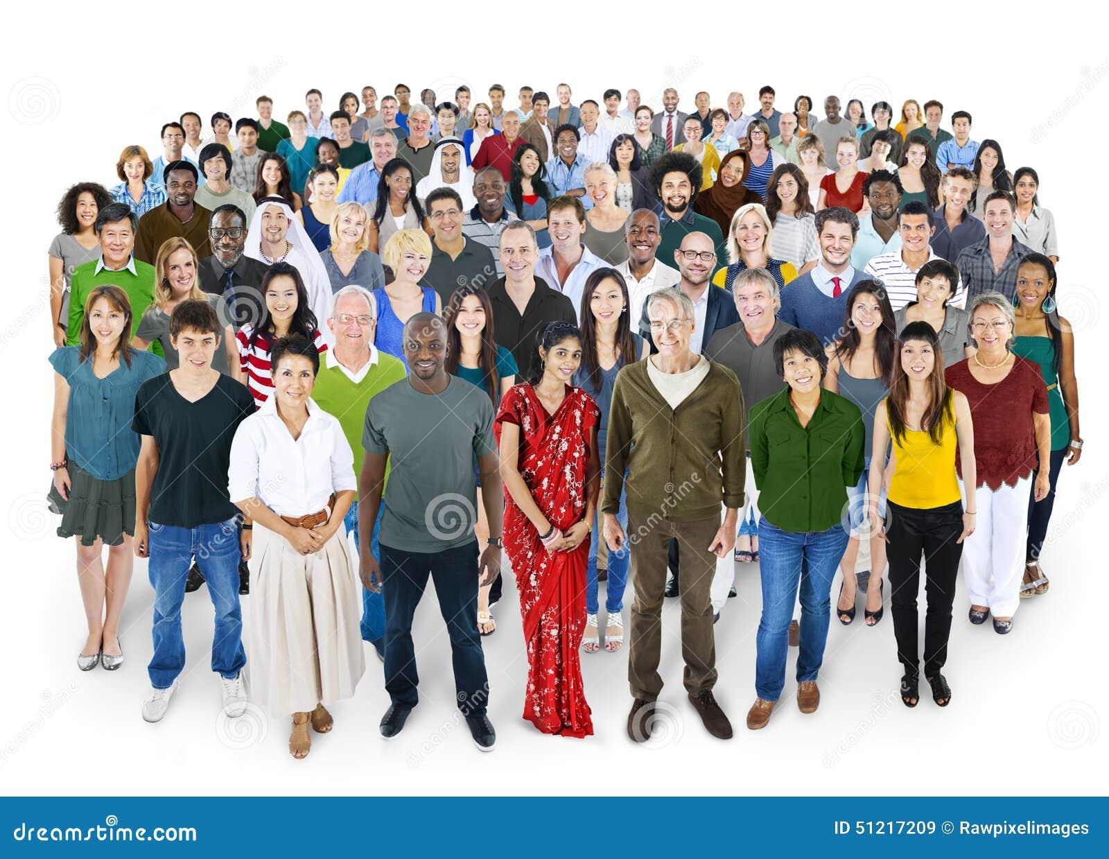 Galit av begrepp för lycka för mångfaldfolkkamratskap