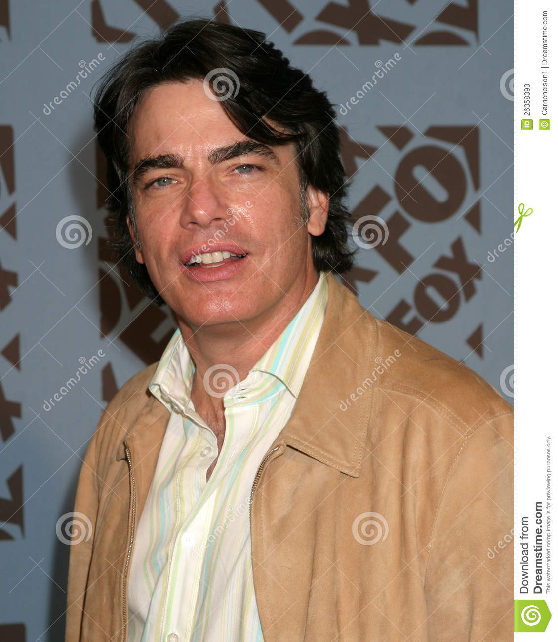 peter gallagher eyebrows