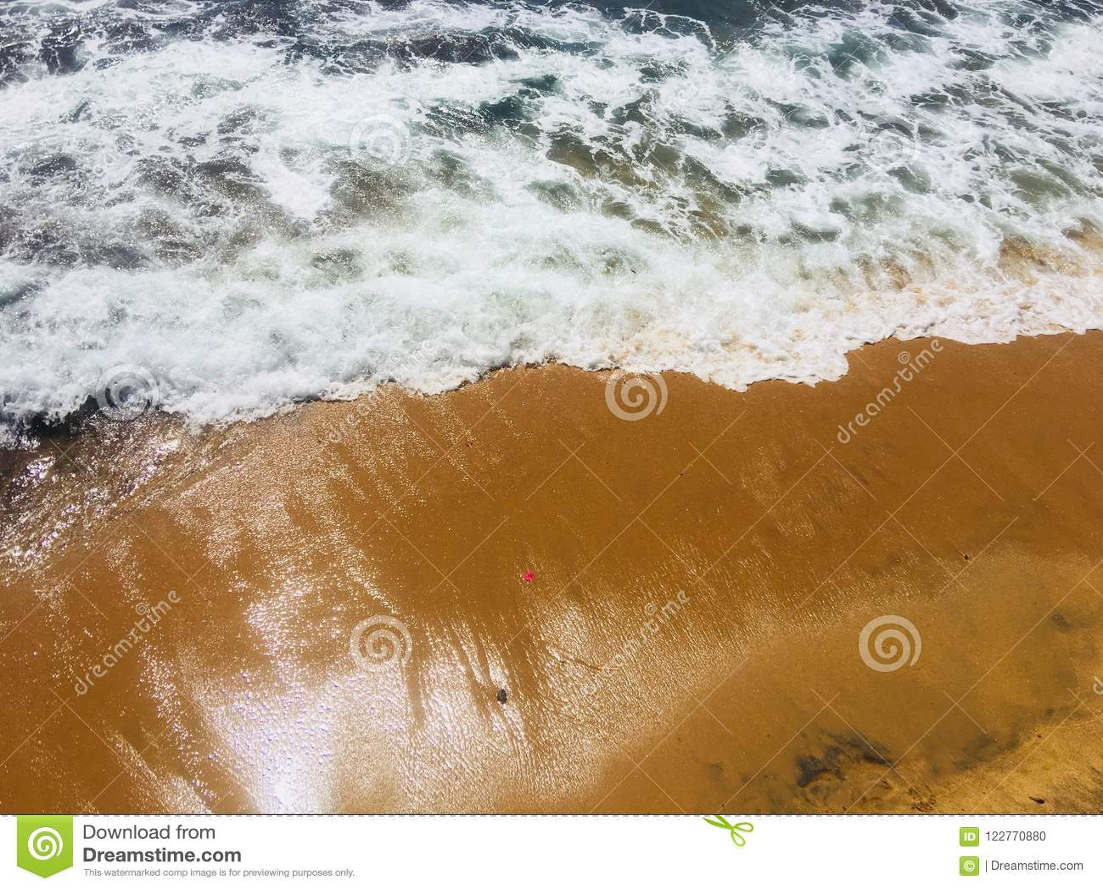 Galleface beach of sri lanka