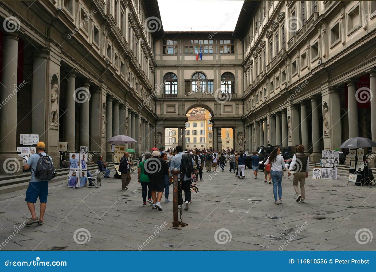 Galleria di Uffizi Firenze - in Italia