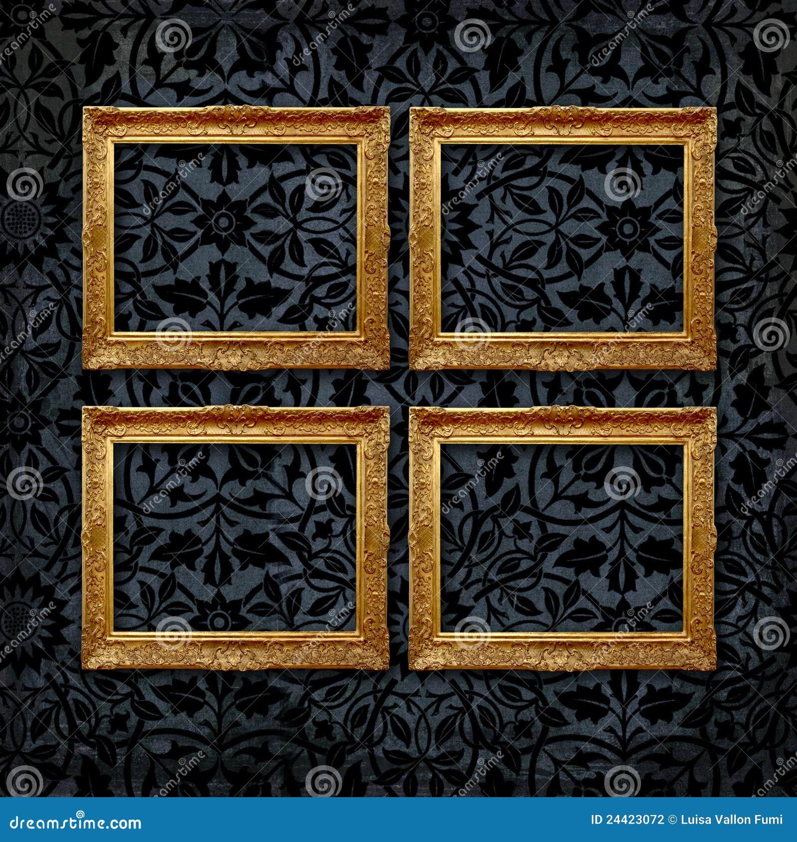 black damask wallpaper velvet