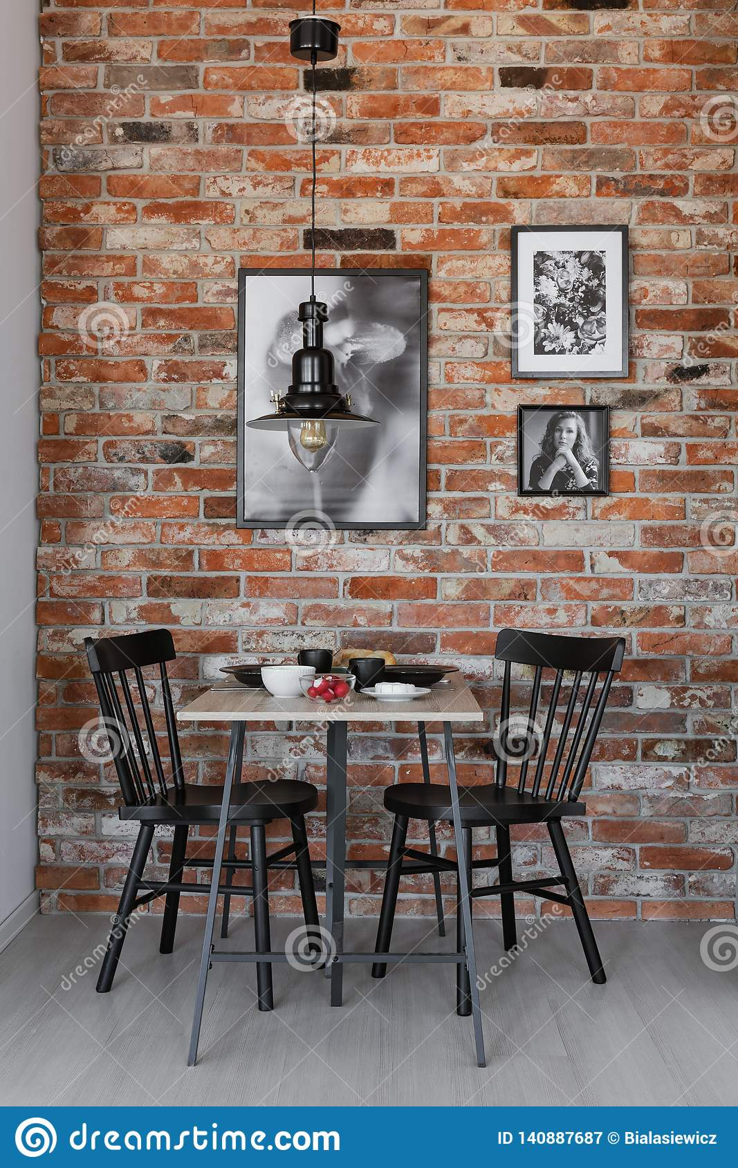 314 Living Room White Brick Wall Chairs Photos Free Royalty Free Stock Photos From Dreamstime
