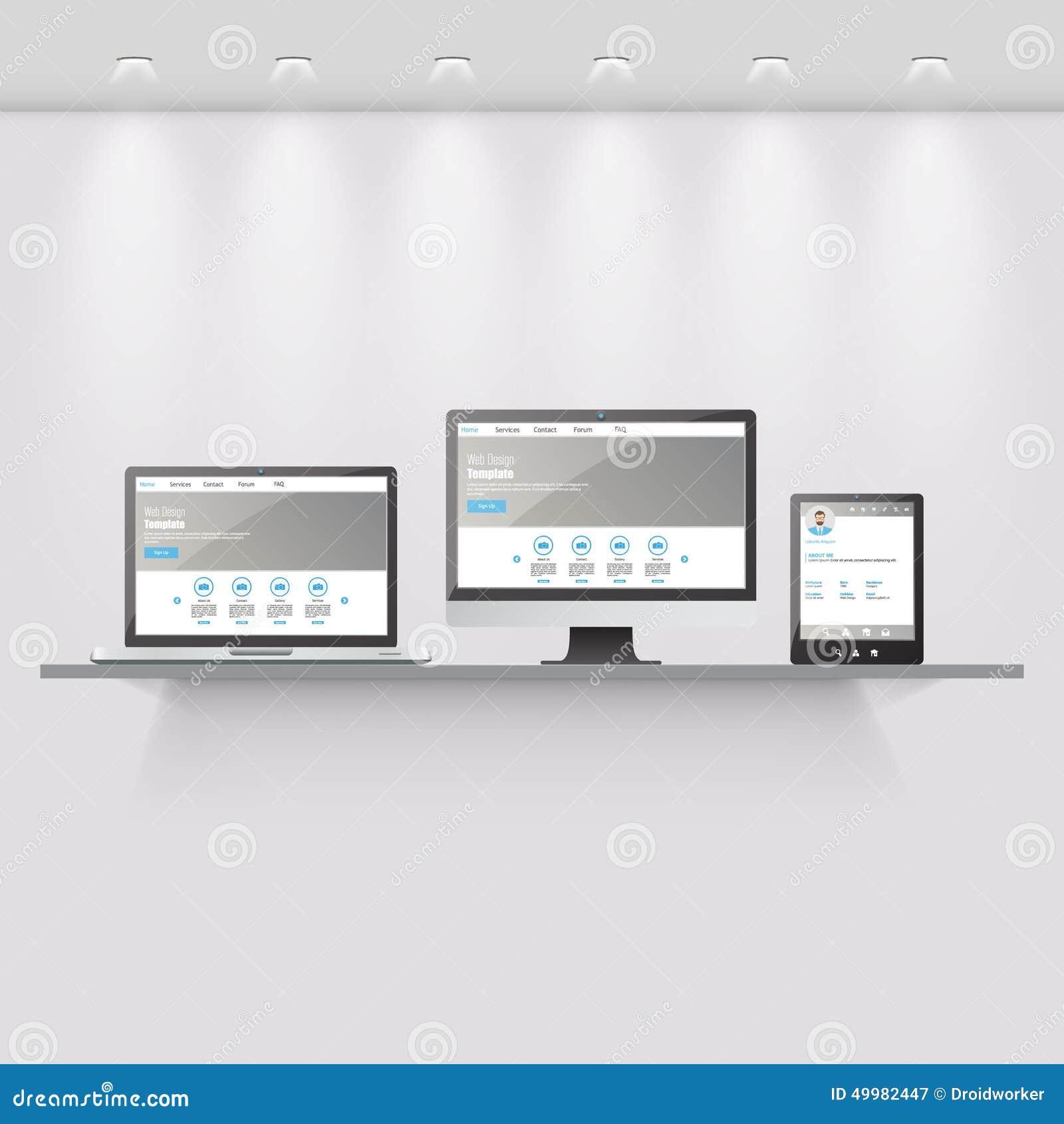 Interior design application on digital tablet stock image for Interior design web app