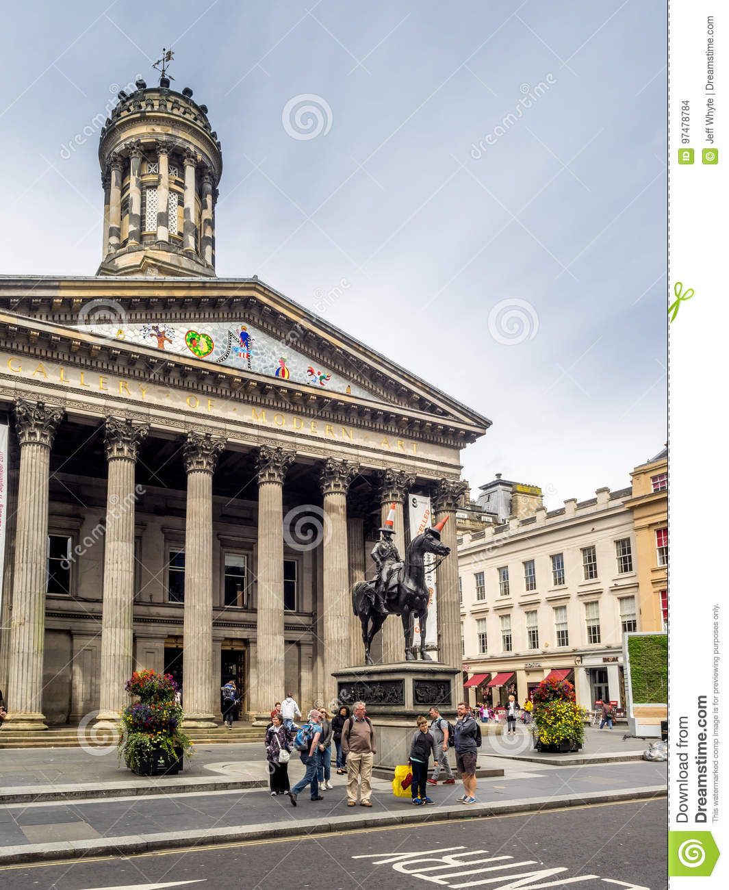 Gallery Of Modern Art Goma Editorial Stock Image Image Of
