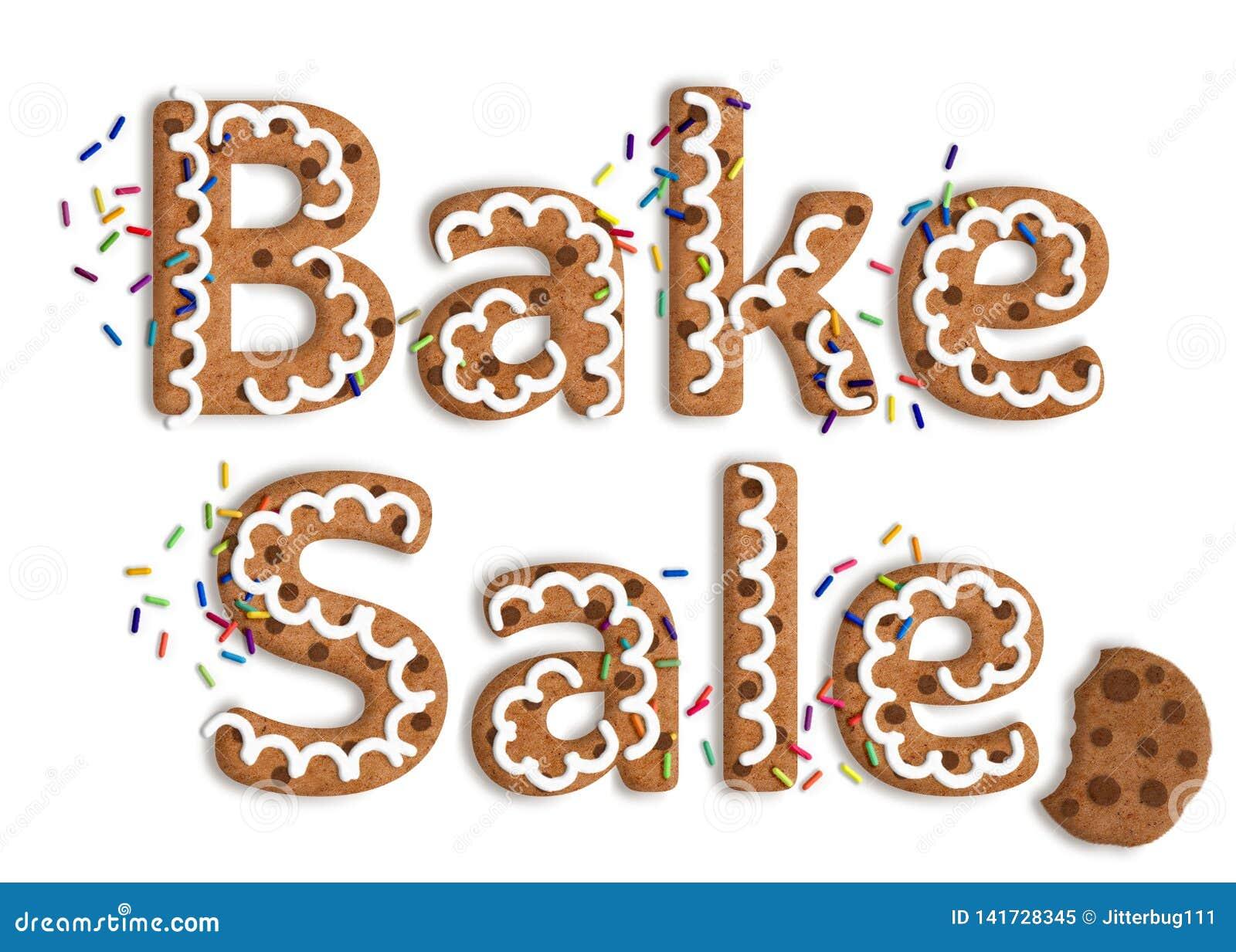 Galleta aislada Art Bake Sale Graphic