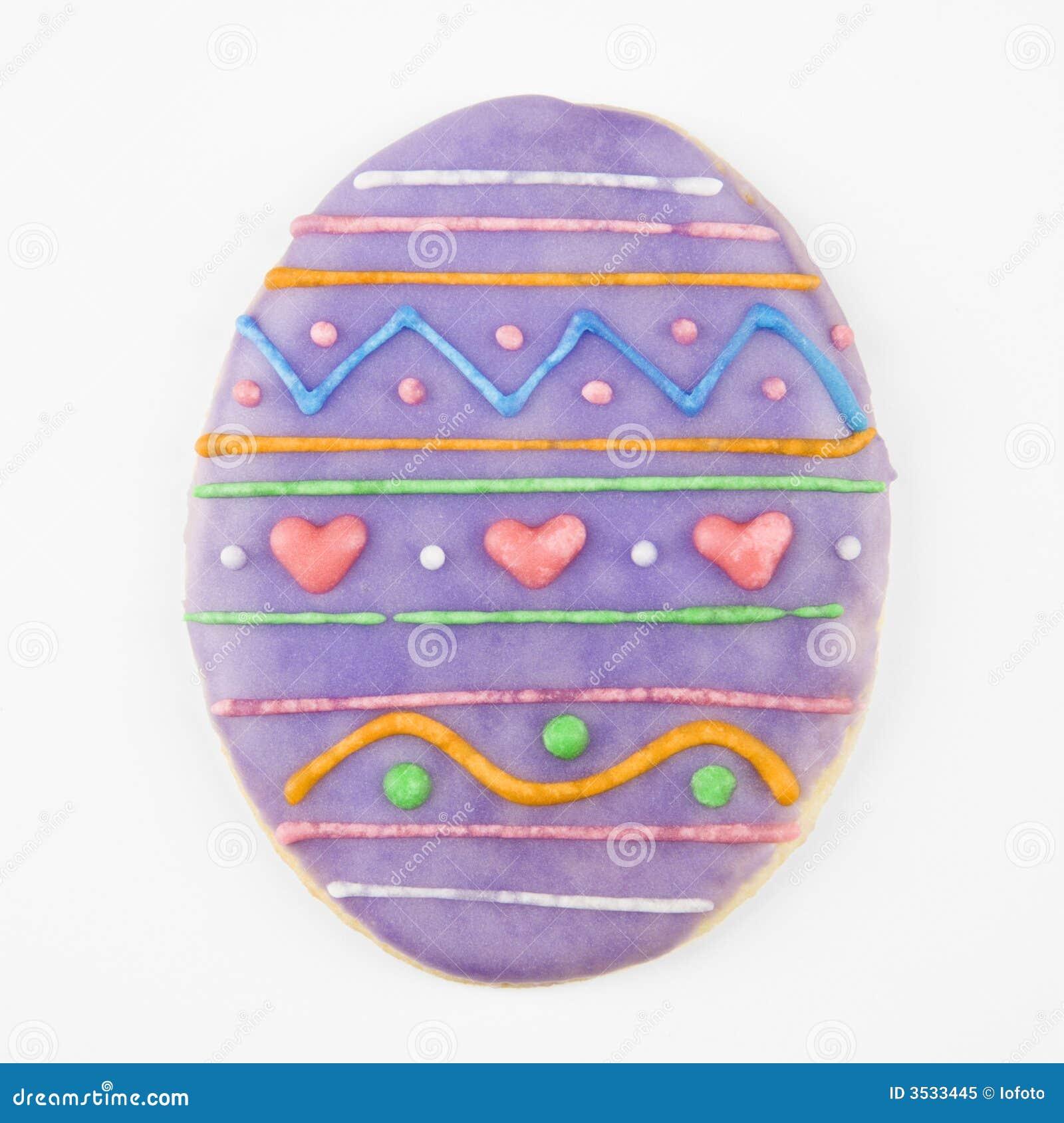 Galleta del huevo de Pascua.