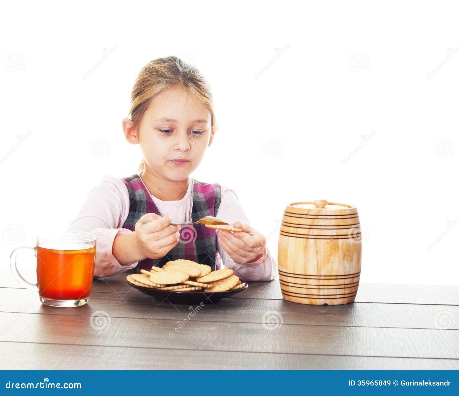Galletas con la miel