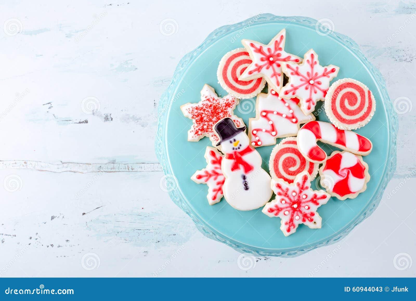 Galletas de azúcar de la Navidad
