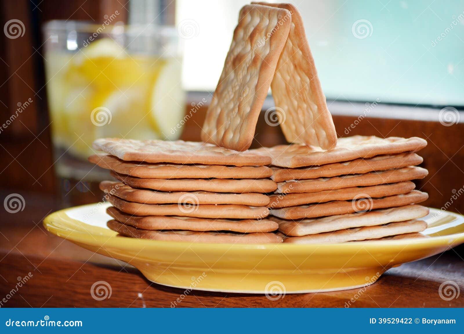 Desayunar dieta para galletas