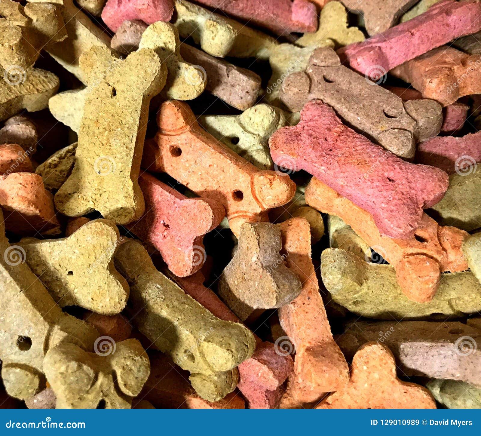 Galletas de perro, multicoloras Vendido en bulto en Winco